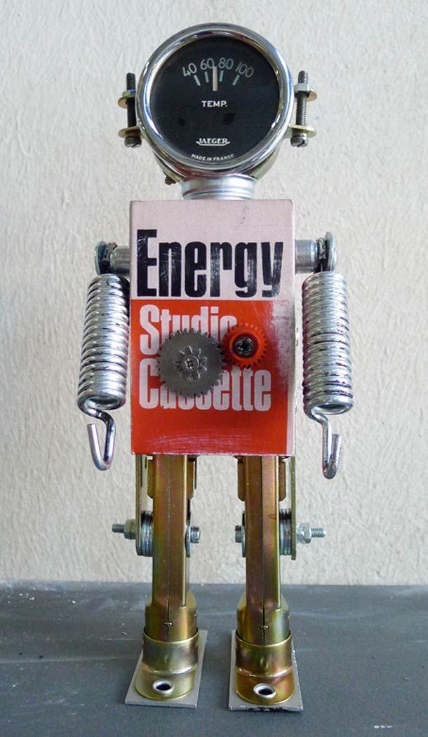 Favori Plus de 25 idées uniques dans la catégorie Robot recyclé sur  LO42