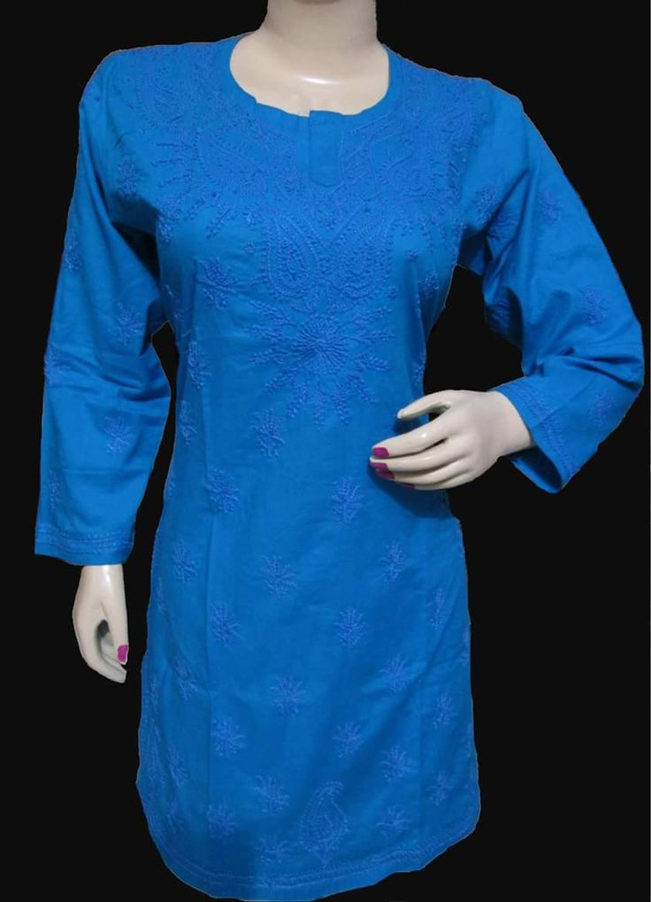 Hello! I thought you might be interested in Blue Cotton Kurta with Chikankari from The Magical Thread http://themagi1.limeshop.in/products/1403