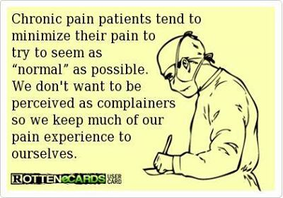 until we seriously think we can't stand it a minute longer! What chronic migraines do to a person