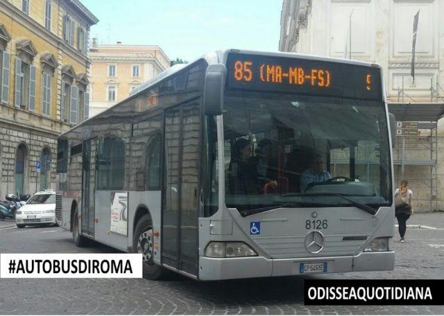 #AutobusDiRoma - Lutimo lotto di Citaro approdato in Atac!