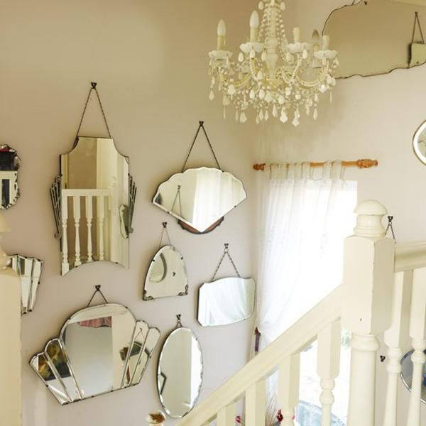 Best 25 vintage mirrors ideas on pinterest - Home decor wall mirrors collection ...