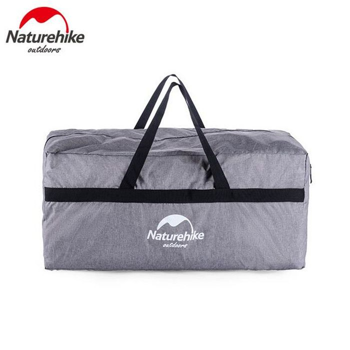 Naturehike 100L Extra Big Clothing Storage Boxes Outdoor Oxford Zipper Equipment Bag Storage Bag Tent Organizers Catchall Travel