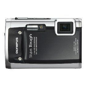 Olympus Stylus Tough 6020 14 MP Digital Camera with 5x Wide-Angle Zoom and 2.7-Inch LCD (Black) $199.00