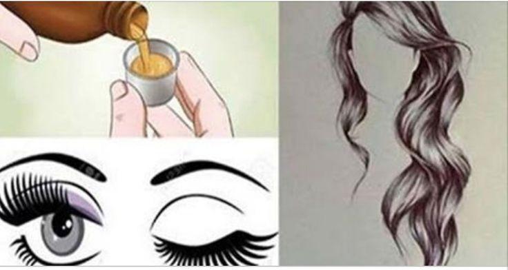 Se você quer seus cabelos, sobrancelhas e cílios crescendo mais rápido, basta aplicar esta receita neles! | Cura pela Natureza