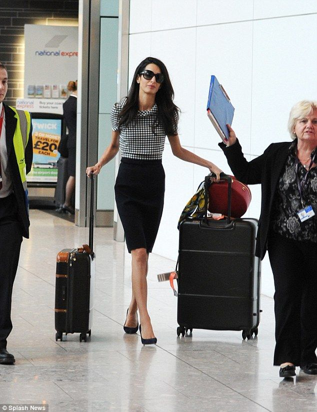Pin by Ro Bouvier on Airport in 2019 | Amal clooney, Fashion
