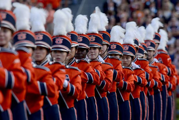 Auburn Homecoming 2013: The Auburn University Marching Band ...