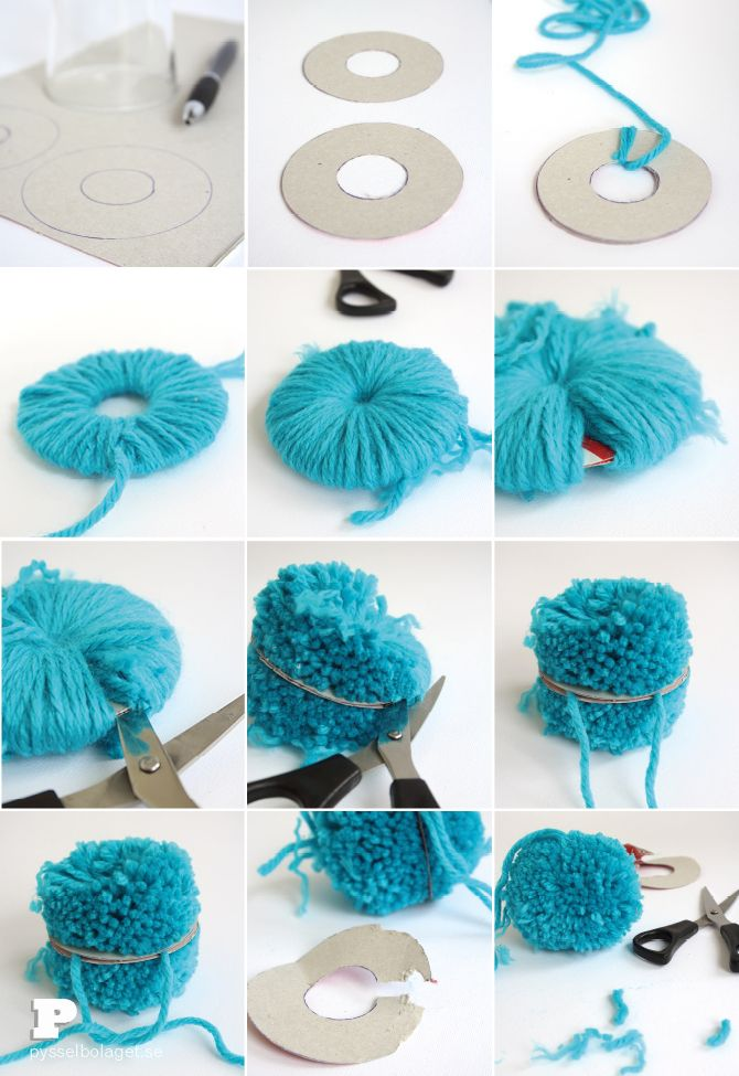 How to make a Pom Pom by Pysselbolaget