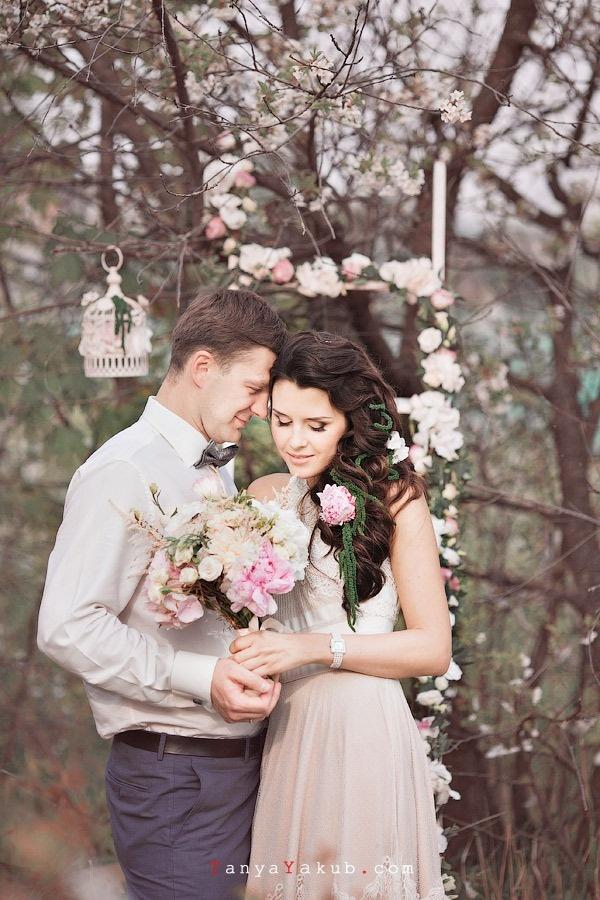 Организатор и ведущая счастливых свадеб в Сургуте Инна Ткачук. Весенняя свадьба.