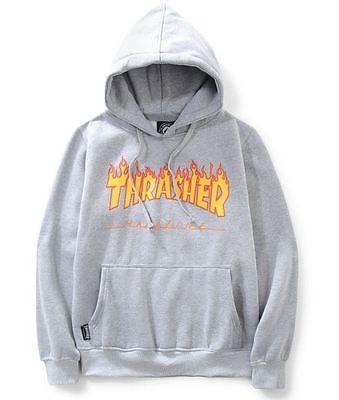 Thrasher Hoodie Skateboard Hip-Hop Camouflage Pullover Kapuzen Sweatshirt Unisex