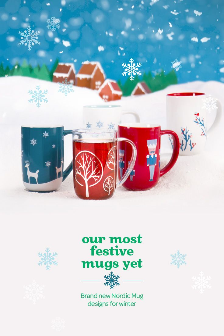 WINTER 2014 - Our Nordic mugs in limited edition festive designs!