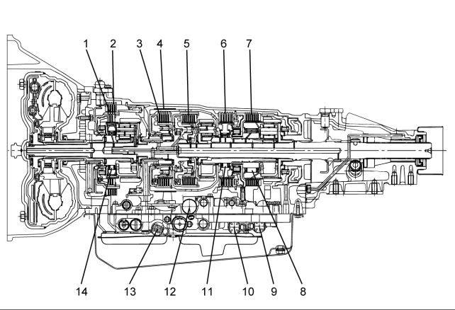 Isuzu Transmission AW30-40LE Model Workshop Manual