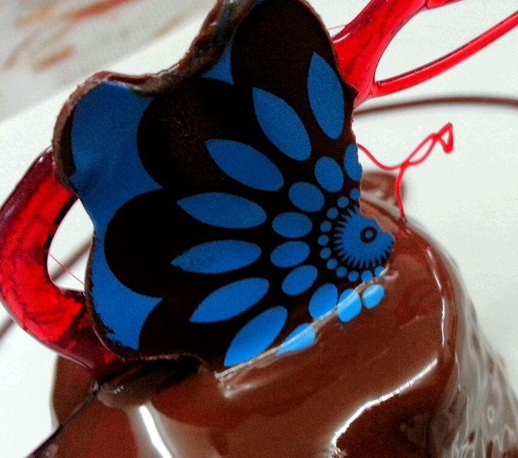 Choco transfer isomalt
