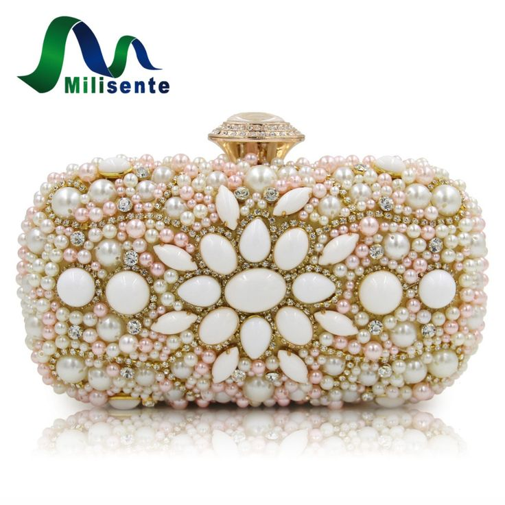 Aliexpress.com : Buy Milisente Women Wedding Clutch Bags Laides Beaded White Clutches Purses from Reliable white clutch purse suppliers on Milisente Store