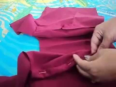 HOW TO MEASURE CUT AND SEW PRINCESS CUT BLOUSE