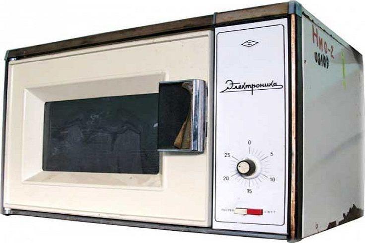 А вы знали об СВЧ-печах СССР? Это прототип первой микроволновой печи «Электроника», 1984 год
