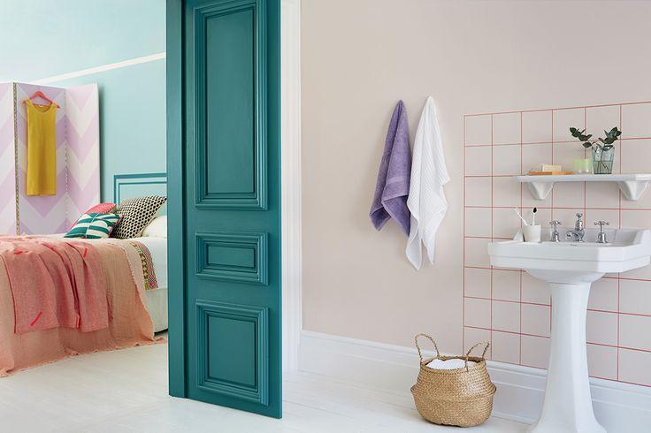 Agrandir une pièce grace à la couleur: les jeux de lumière, les couleurs complémentaires qui valorisent un espace ...