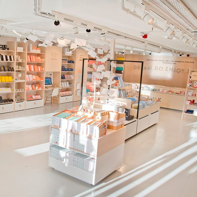 Light, bright, and filled with stationery – Kikki.K's first UK store, in Covent Garden, is our new favourite place to browse. Click here to take look inside