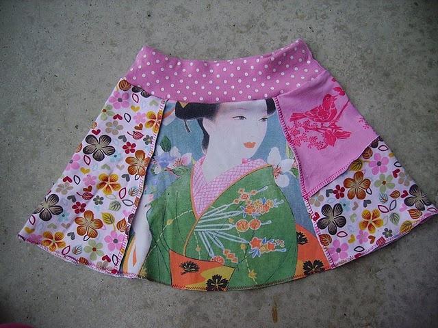 tutorial urban skirt