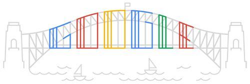 Google is Sydney Harbor Bridge.
