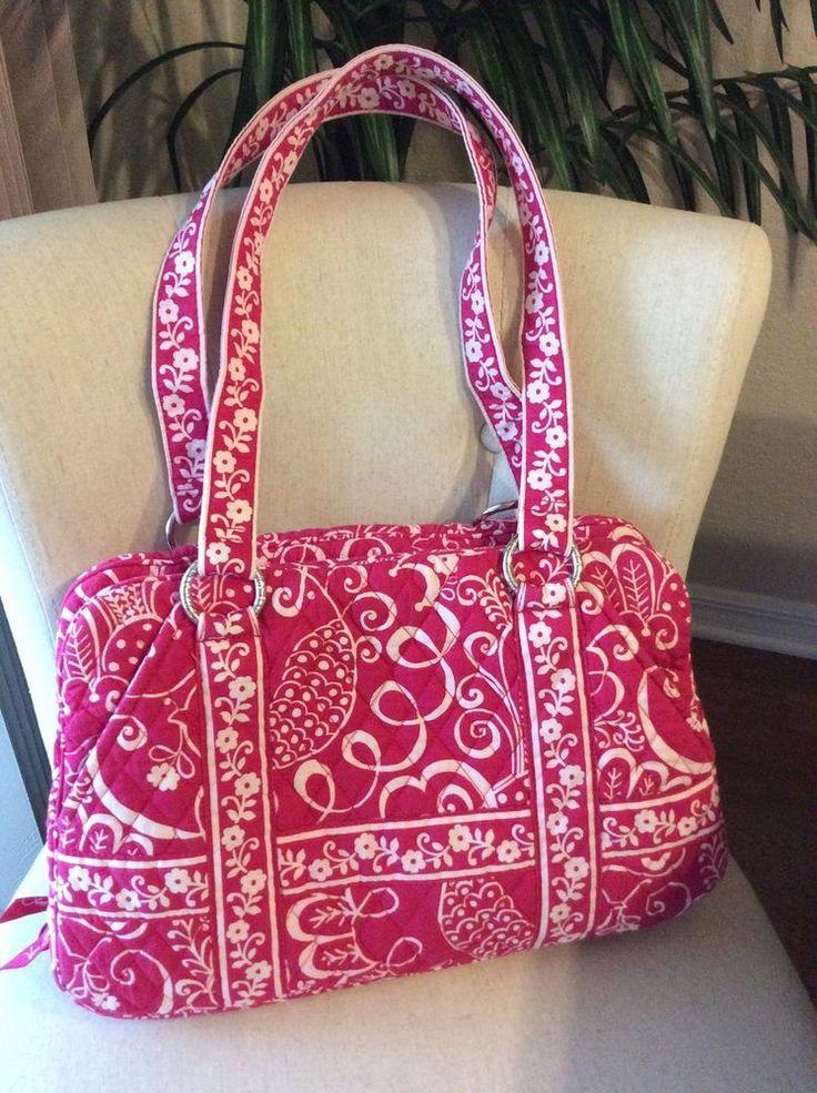 Vera Bradley Twirly Bird Pink Handbag #VeraBradley #ShoulderBag