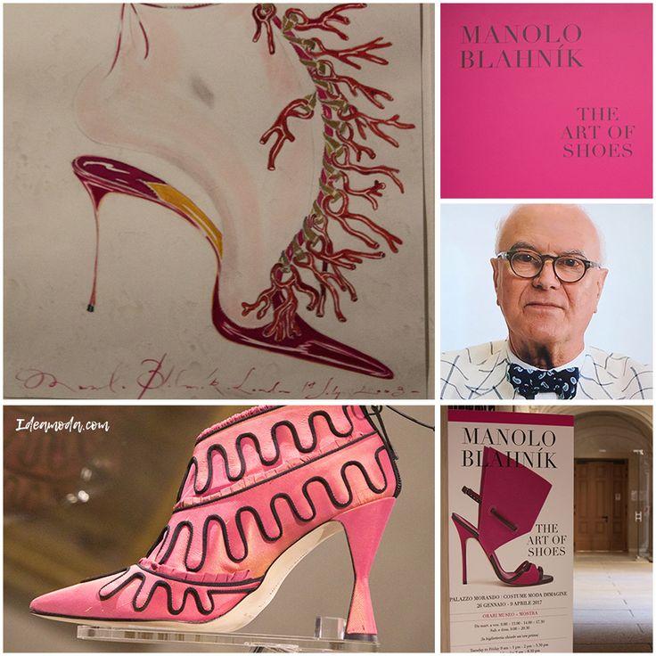 #manoloblahnik #shoes #exhibition #milan #colors #drawings