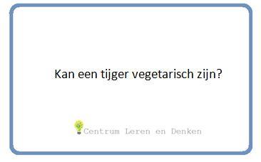 #onderwijs #filosofie #juf #thema #tijger #vegetarisch #kinderfilosofie #kinderen
