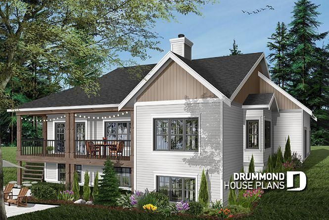 Discover The Plan 3246 V1 Aldergrove Which Will Please You For Its 5 4 Bedrooms And For Its Country Styles Basement House Plans House Plans Farmhouse Modern Farmhouse Plans