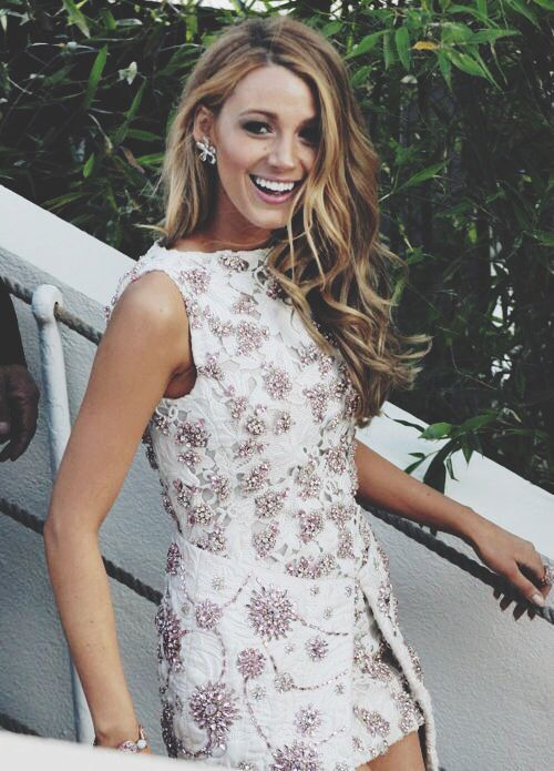 I LOVE Blake Lively. And this dress.
