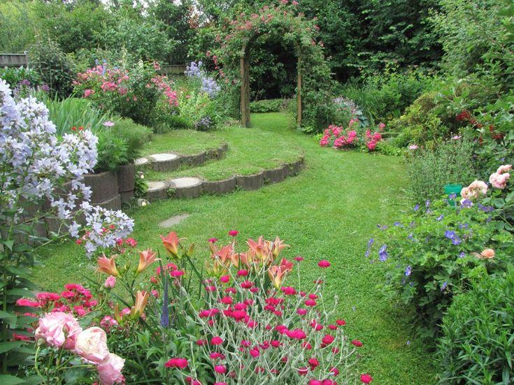 Цветочный сад Klaus Nickel.