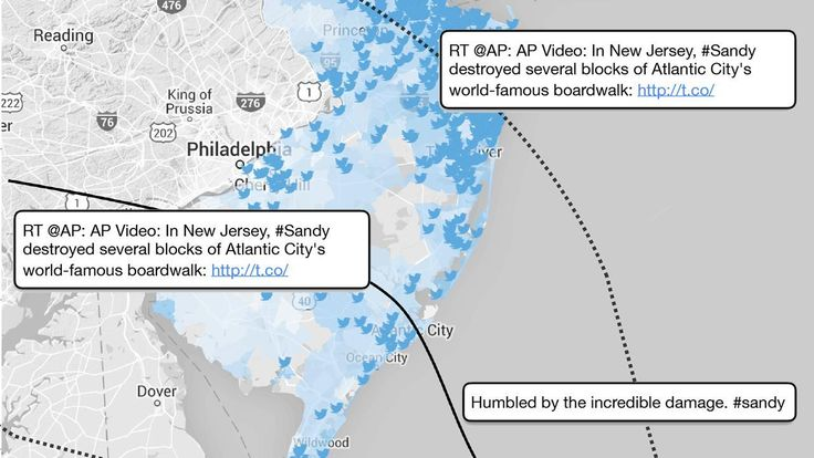 New study shows the costs of Superstorm Sandy were accurately mapped by tweets