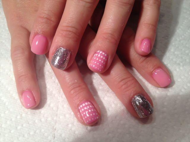 Lavish Looks | Hair Design by Lindsay | Gel Nail Designs - Best 25+ Pink Gel Nails Ideas On Pinterest Sparkle Gel Nails