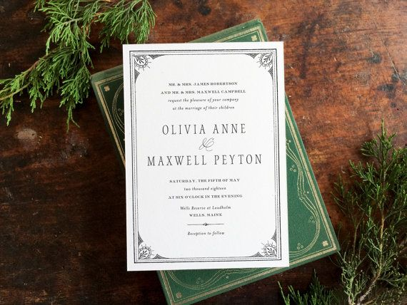 Pyrmont point park wedding invitations