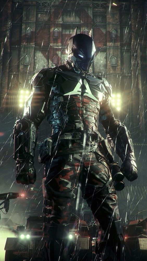 batman arkham knight art