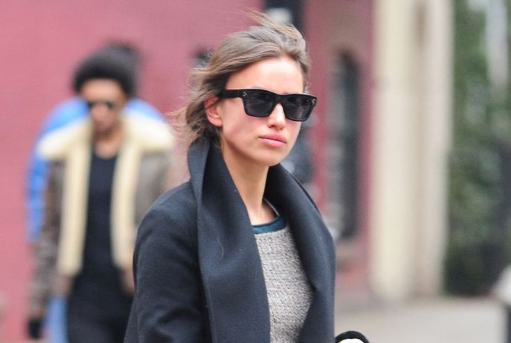 Cold days outfits: Irina Shayk, en West Village