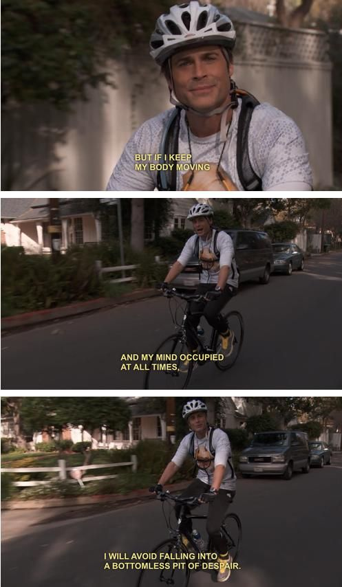 Parks and Rec! Chris Traeger is my fav character of all the times!