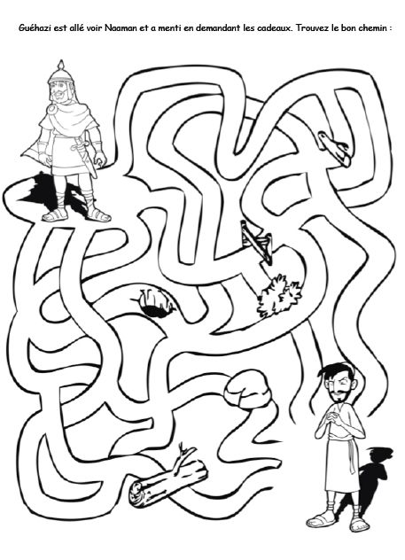 Naaman and elisha coloring pages ~ Naaman: a collection of Other ideas to try | Trust in god ...