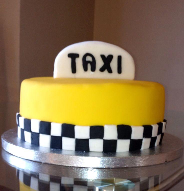Taxi Cake Tartas Pinterest Cakes