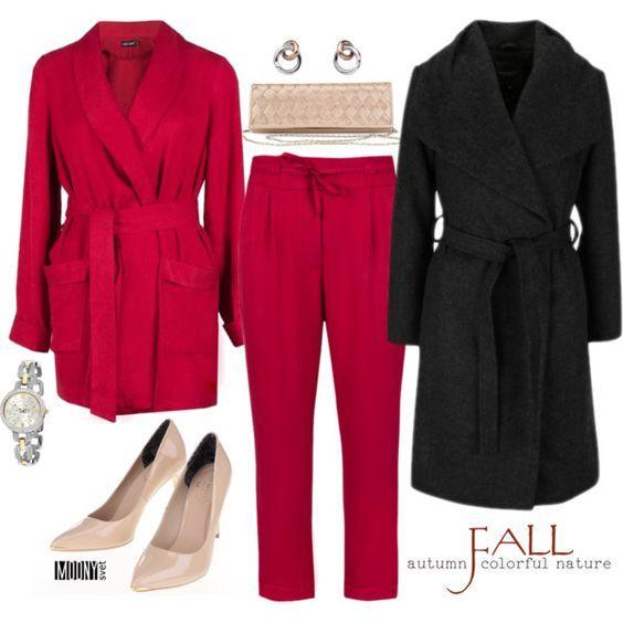 cerveny kostym