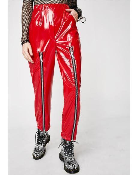 0cf05a749 VINYL WORSHIP #dollskill #vinyl #pvc #leatherskirt #redskirt   VINYL ...