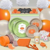Lil' Pumpkin Ultimate Party Pack For 8