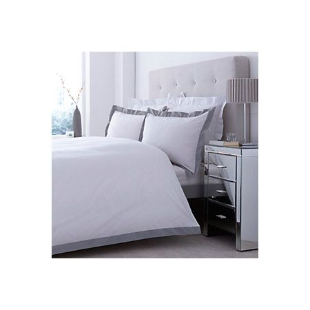 £29 View Lexington Grey & White Double Bed Cover Set details
