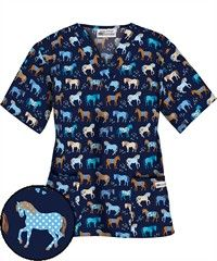 I love these because I can hardly find any large animal scrubs (llamas, donkeys, cows, mules, goats, and horses).