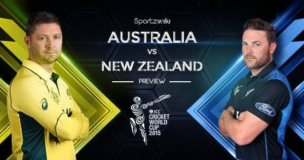 Australia vs New Zealand Live Streaming Online http://allnews24.biz/how-to-watch-icc-cricket-world-cup-2015-live-streaming-online/