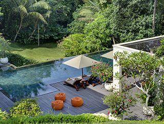 The Arsana Estate - Garden, pool and bean bags