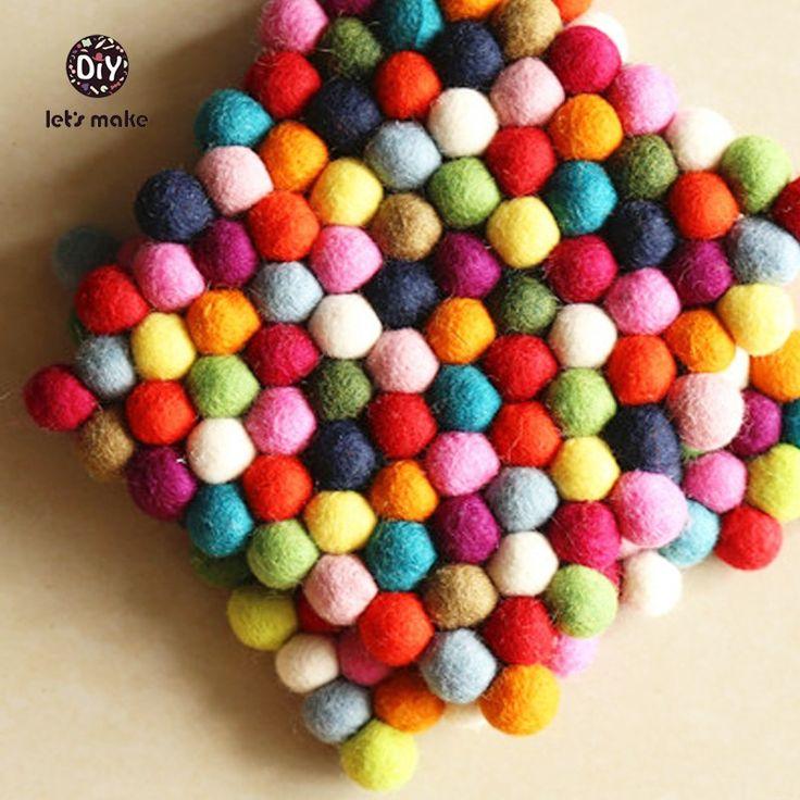 Многоцветная Радуга чувствовал, Чувствовал мяч Мяч Подставки купить на AliExpress
