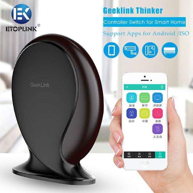 Geeklink Pensador Mando a distancia para el Hogar Inteligente Router Inalámbrico De Alarma de Seguridad Inteligente Domótica por IOS/Android