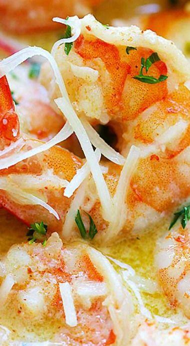 Creamy Garlic Parmesan Shrimp