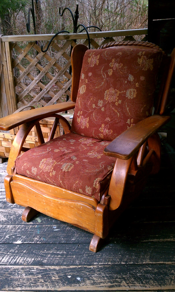 1950s wagon wheel platform rocker look for a pair for my for Living room chairs on wheels