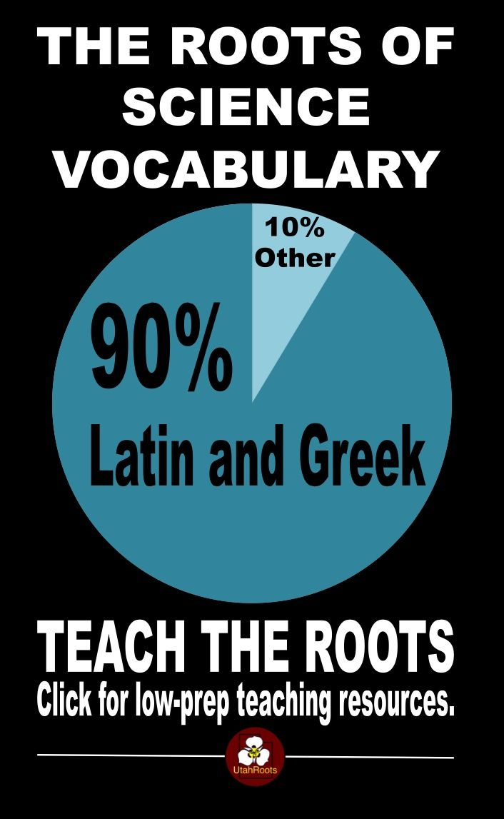 When your students know Latin roots and affixes, they'll rarely see a science vocabulary word whose meaning they can't determine. Teach the roots and the rest of the vocabulary takes care of itself. Get low-prep easy to use teaching resources you can use all year.