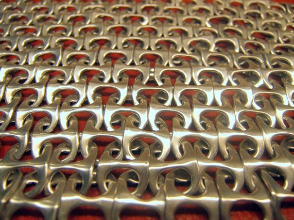20 Awesome Do It Yourself Projects  soda tab bag: Sodas Tabs, Thoughts, Crafts Ideas, Pop Tabs, Diy Crafts, Make A Pur, Chains Mail, Tabs Chainmail, Dumpaday 39